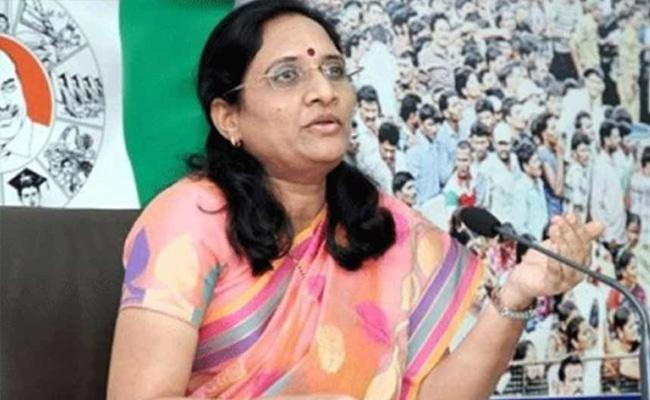 Vasireddy Padma Says Helpline For Womens Protection - Sakshi