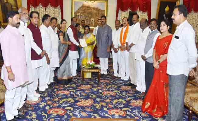 BJP Wants Government To Hold Telangana Liberation Day  - Sakshi