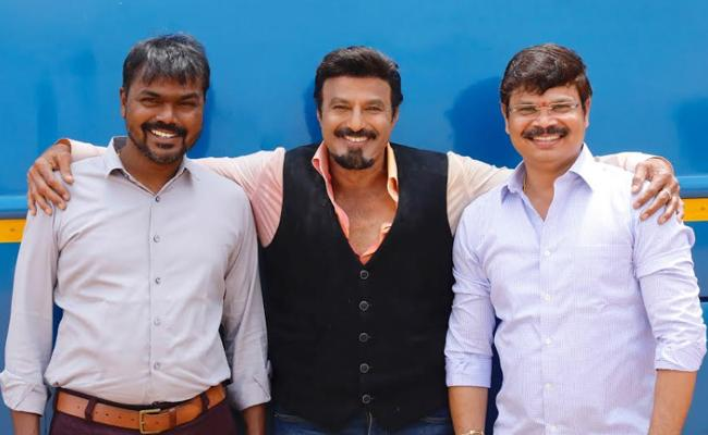 Balakrishna, Boyapati Sreenu, Miryala Ravinder Reddy Movie Announcement - Sakshi