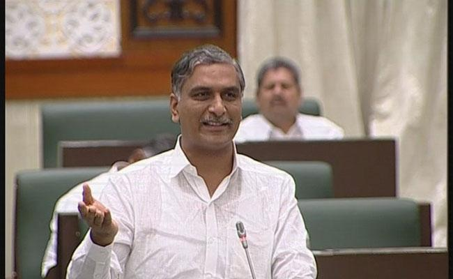 Congress Has Committed Not Giving National Status To The kaleshwaram project Says Harish Rao - Sakshi