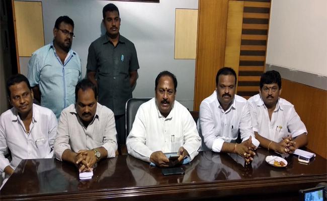 MLA Kottu Satyanarayana Comment About Manikyala Rao In Tadepalligudem - Sakshi