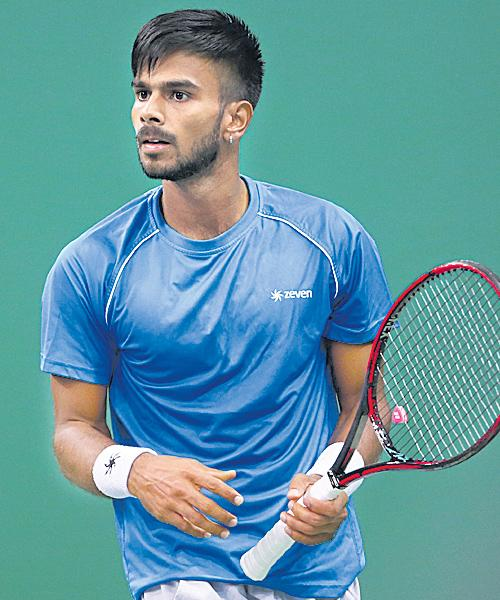 Sumit Nagal Enters Final Of ATP Luca Tour - Sakshi