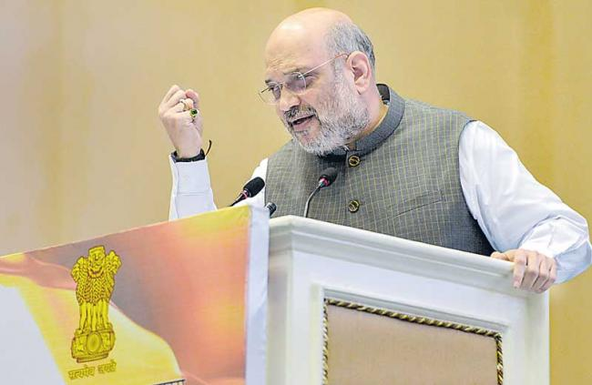 Amit Shah, Hindi, Single National Language, Hindi Day, Anxiety - Sakshi