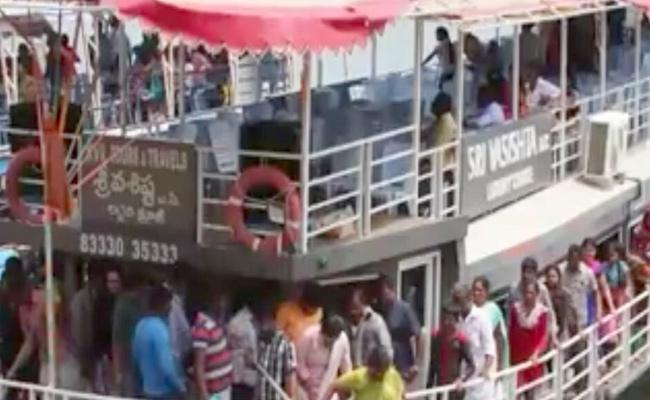 Boat Accident In Godavari River At Devipatnam: Several FromTelangana - Sakshi