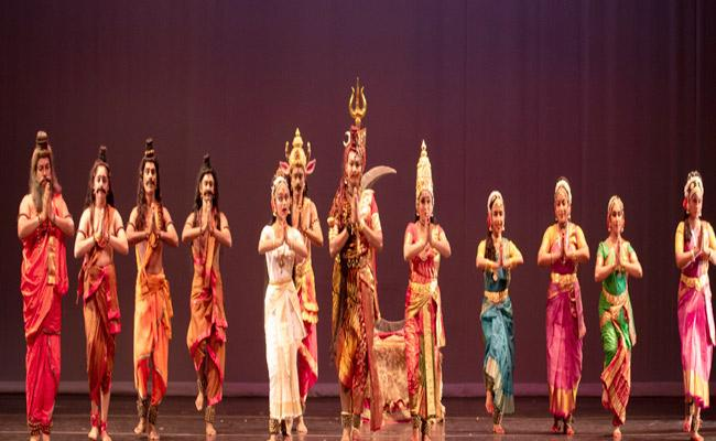 Chicago Telugu Associations Sponsors Ardhanareeswara Kuchipudi Dance Performance - Sakshi