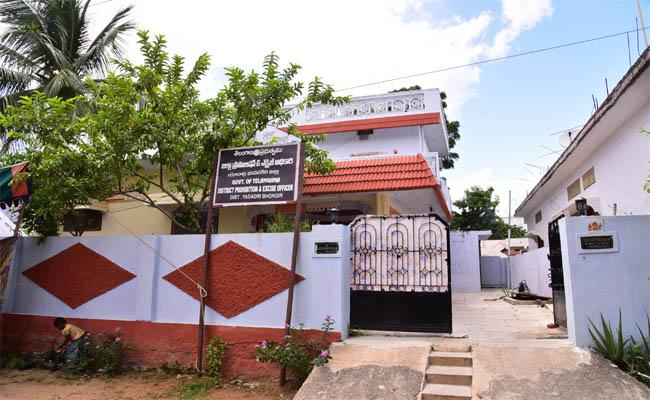 Real Estate Traders Into the Liquor Business - Sakshi