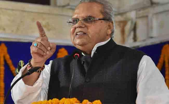 Jammu Kashmir Governor Satya Pal Malik Warning Terrorists - Sakshi
