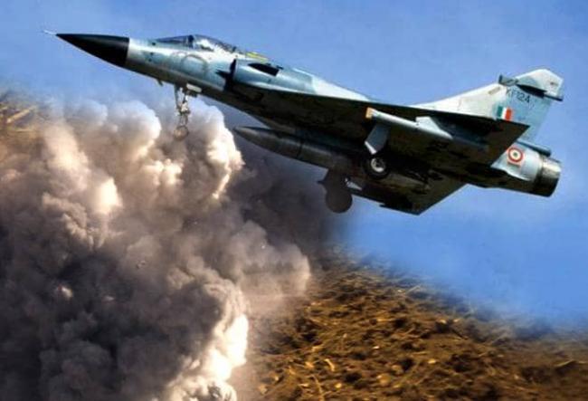 Balakot Airstrikes Becomes Theme For Durga Puja Pandal - Sakshi
