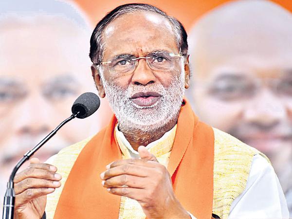 BJP Leader Laxman Comments On KCR - Sakshi