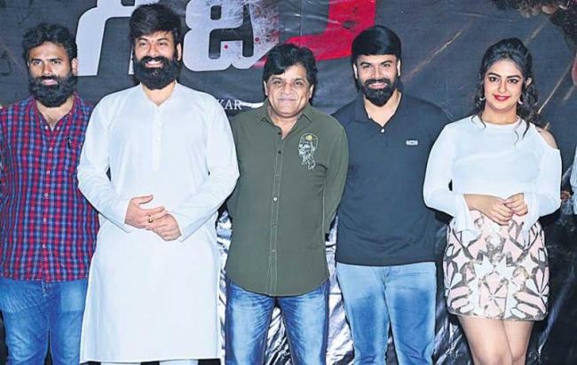 Victory Venkatesh Launches Raju Gari Gadhi 3 Trailer - Sakshi