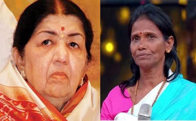 Ranu Mondal Reaction on Lata Mangeshkar Criticism - Sakshi