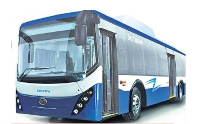 50 Electric Buses For Prakasam - Sakshi