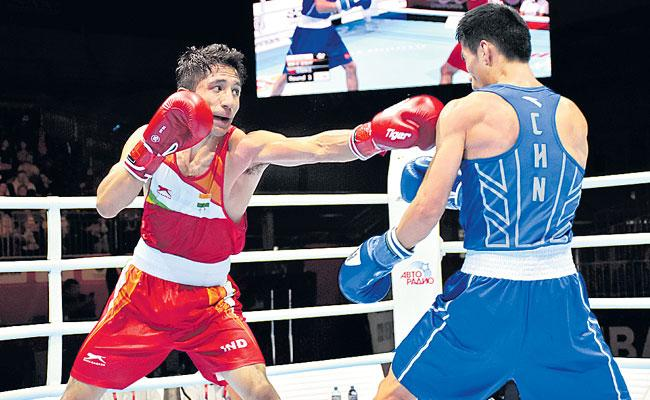 Kavinder Singh and Sanjit Entaire Pre quarter final - Sakshi