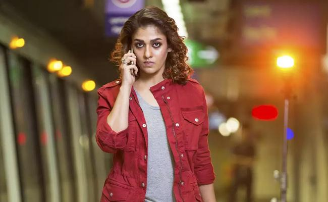 Nayanthara Gets Rajini Film Title Netrikann - Sakshi