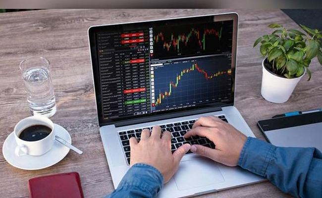 Sensex Drops Over 250 Points, Nifty just above11000 - Sakshi
