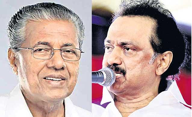 Kerala CM attacks Shah on Hindi pitch - Sakshi