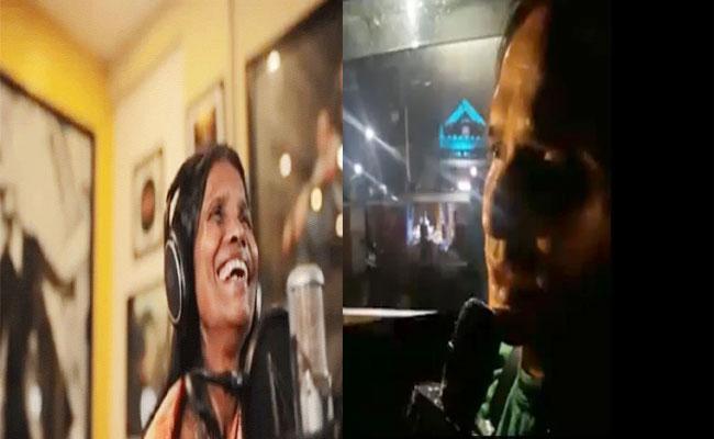 Lucknow Uber Cab Driver Reminds Ranu Mondal With His Singing Talent - Sakshi