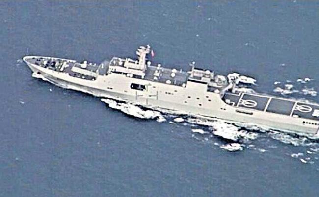 Navy tracks Chinese vessels operating in Indian Ocean Region - Sakshi