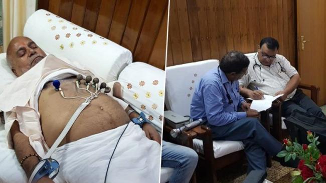 Chinmayanand Receiving Medical Treatment At Ashram - Sakshi
