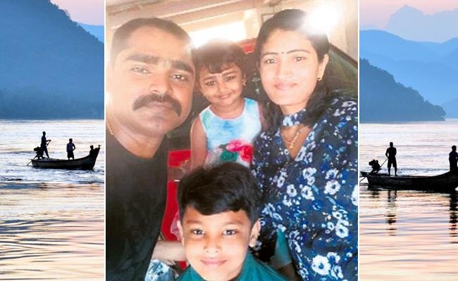 Visakhapatnam Family Missed In Godavari Launch Accident - Sakshi
