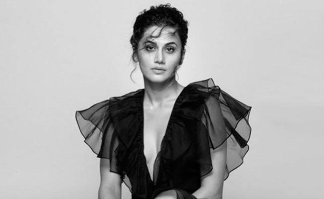 Taapsee Pannu Says It's Hard to Handle Enthusiastic Fans - Sakshi
