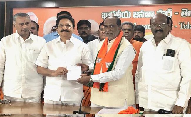Former Governor Vidyasagar Rao Joins In BJP - Sakshi