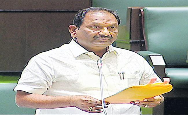 Minister Koppula Eshwar About SCs Development In Assembly - Sakshi