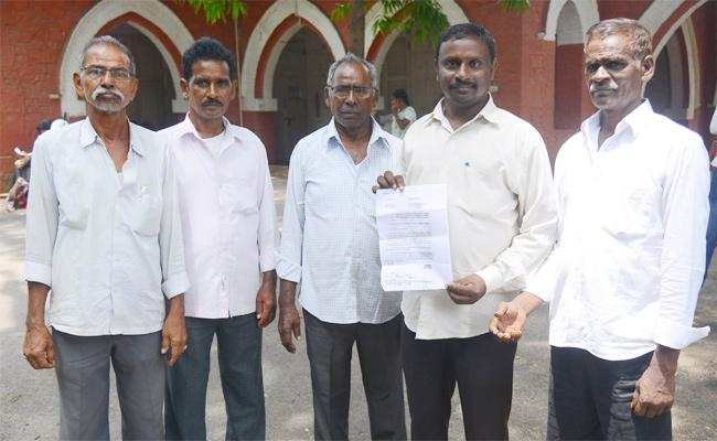 TDP Government Cheat Farmers After Collecting Lands - Sakshi