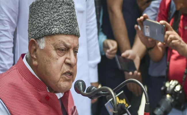 Farooq Abdullah Detention Is Nervousness Of Government - Sakshi