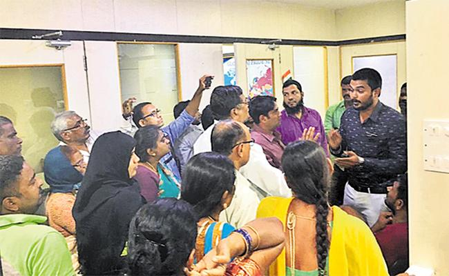 Globaltaj Pride Services Cheating to People With Fake Plots - Sakshi