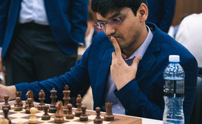 World Cup Chess Tournament Hari Krishna And Vidit Gujrathi lose - Sakshi