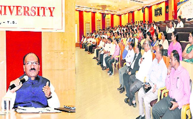 There Is Need To Provide Quality Education Says Janardan Reddy - Sakshi