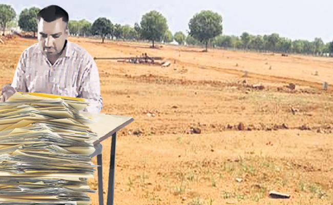 All set For the distribution of Housing Lands - Sakshi