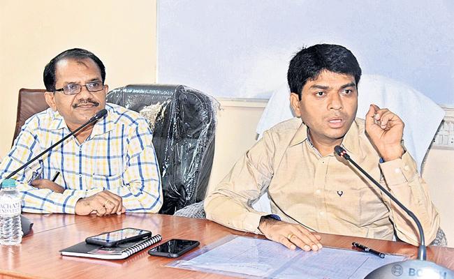 Joint Collector Ravi Serius on Media - Sakshi