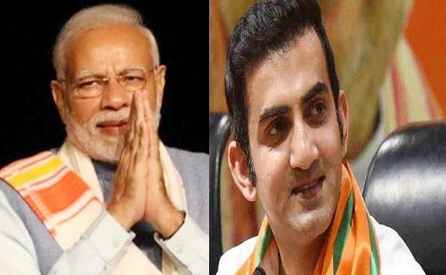 Gautam Gambhir Wishes PM Modi On Birthday Says Honour Of Country - Sakshi