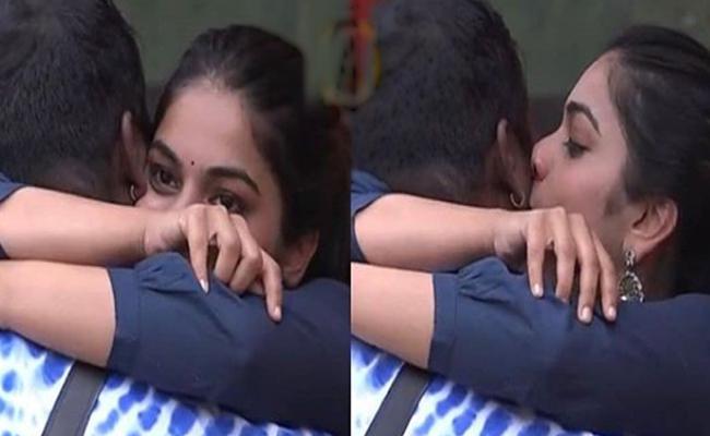 Bigg Boss 3 Telugu : Punarnavi Kisses Rahul Goes Viral - Sakshi
