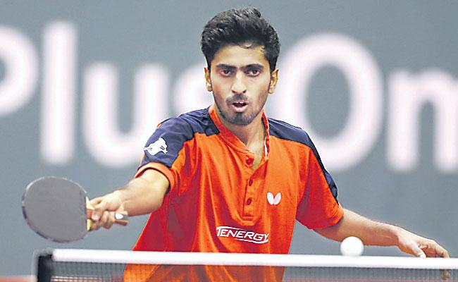 Indian Mens Team Lost To Japan in The Quarterfinals of The Table Tennis - Sakshi