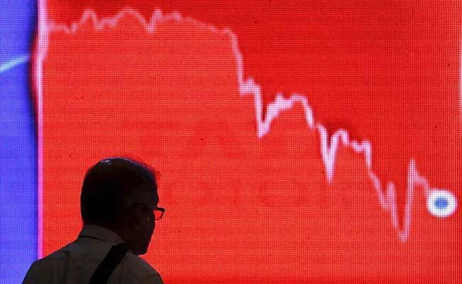 Sensex Slumps 642 Points, Nifty Turns Negative - Sakshi