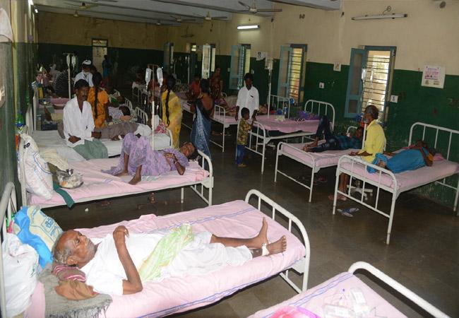 People Suffering Fevers In Karimnagar District - Sakshi