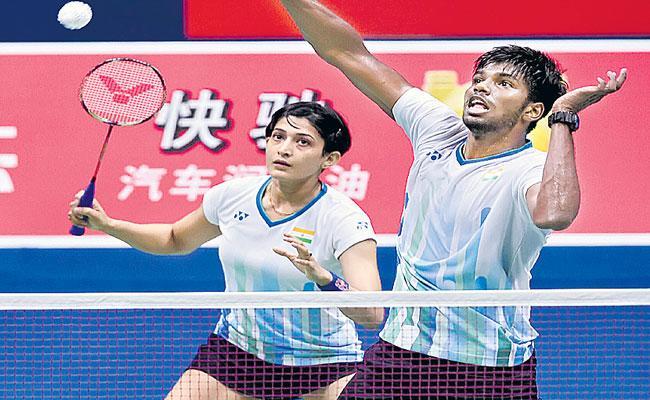 Satwik Ashwini Notch Up Stunning Opening Round Win At China Open - Sakshi
