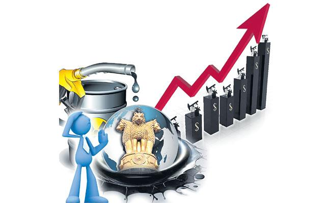Stock Market Logs Modest Gain Amid Turbulent Oil Prices - Sakshi