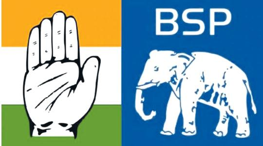 Six BSP MLAs Joined In Congress In Rajasthan - Sakshi