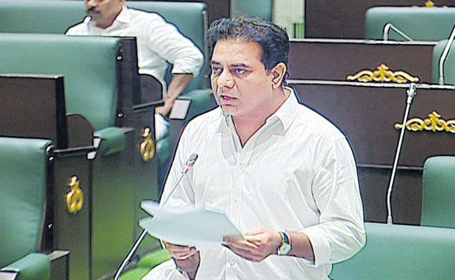Underground Drainage System Will Be Set Up In The Towns Says KTR - Sakshi
