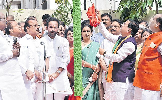 Bjp Prahlad Joshi comments On Cm Kcr - Sakshi