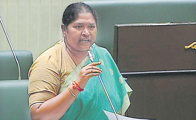 Sitakka Fires On Indrakaran Reddy - Sakshi
