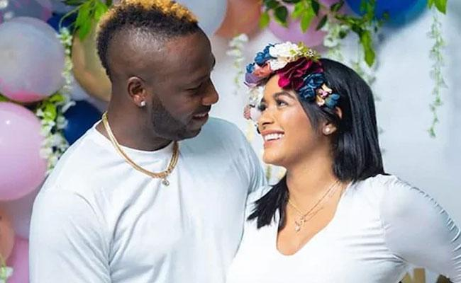 Andre Russell Announces Arrival Of First Baby Shares Cute Video - Sakshi