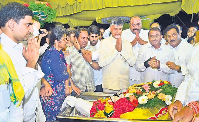Kodela Sivaprasada Rao final funeral at Narasaraopeta - Sakshi