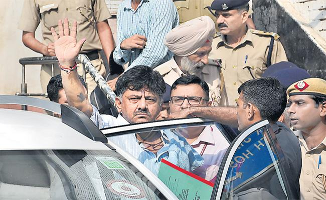 Shivakumar Custody Extended By Special CBI Court - Sakshi