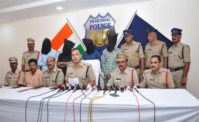 Four Arrested For Rs 85 Crore GST Fraud Busted In Prakasam - Sakshi
