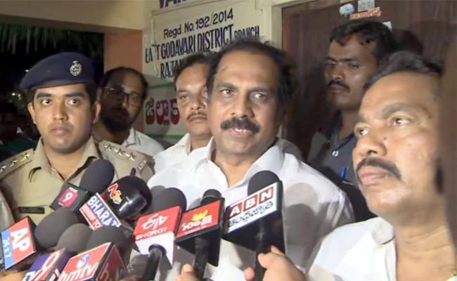 Kanna Babu Explains About Godavari Boat Tragedy - Sakshi
